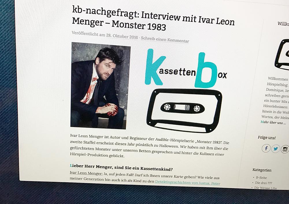 Interview Ivar Leon Menger